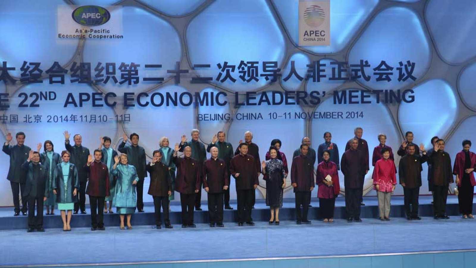 China es el anfitrión de la cumbre de la APEC, que reúne a los líderes de los países de la región de Asia-Pacífico