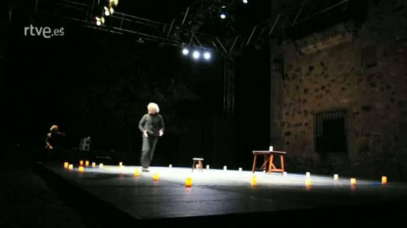 Fragmento de 'La luz oscura de la fe' en Cáceres