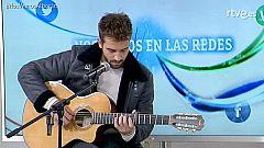 Pablo Alborán canta 'Por fin' en 'Nos vemos en las redes'