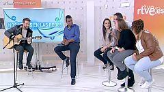 """Pablo Alborán canta """"Pasos de cero"""" en 'Nos vemos en las redes' con un grupo de fans"""