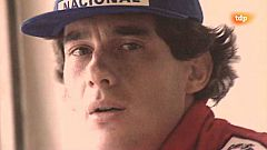 Conexión Vintage: Ayrton Senna llega a TVE Barcelona para una entrevista en Estadio 2