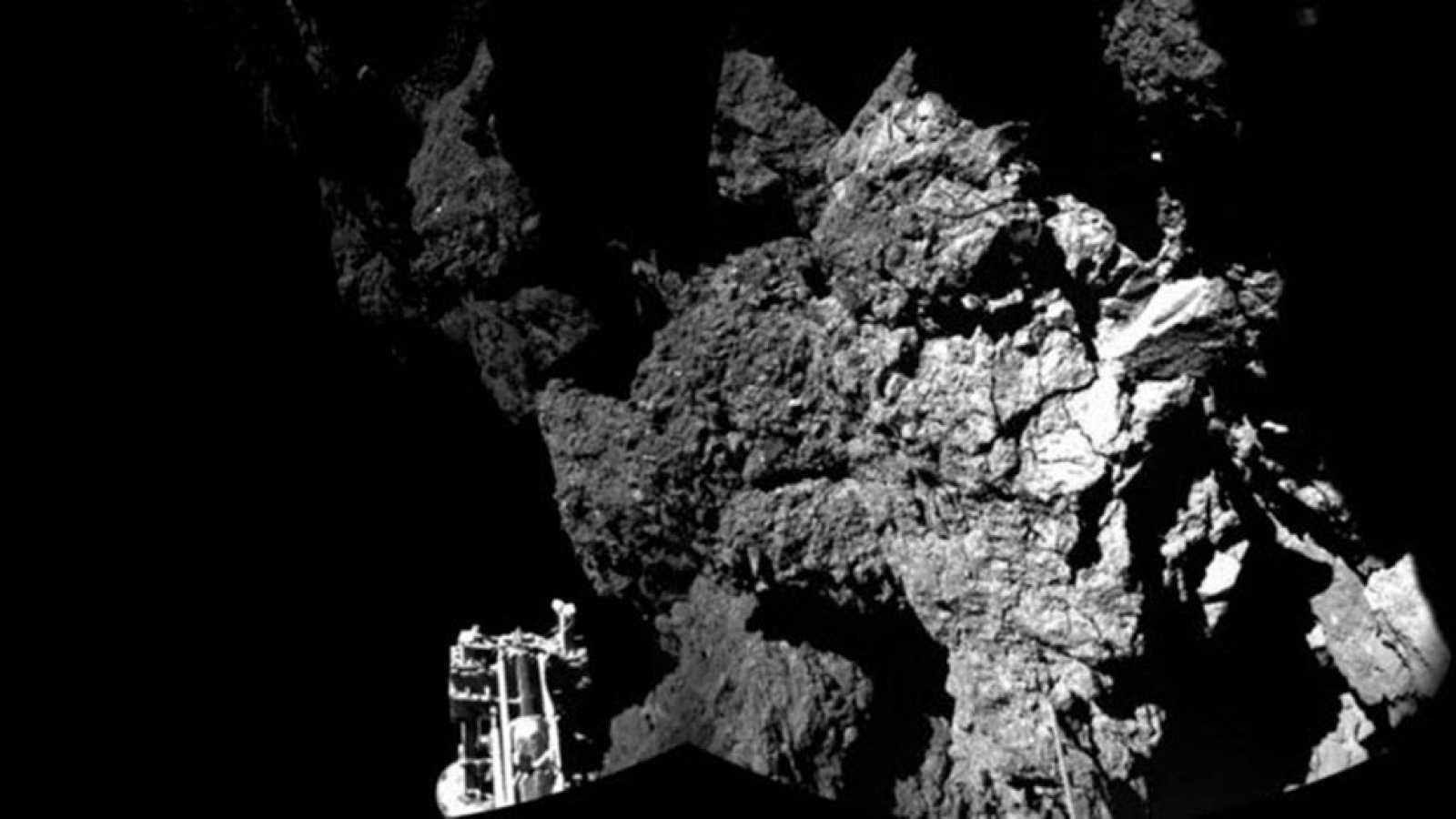 La sonda Philae encuentra moléculas orgánicas en la atmósfera de un cometa