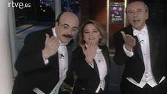 Telepasión 1991: Elena Sánchez, Constantino Romero y Joaquín Prat