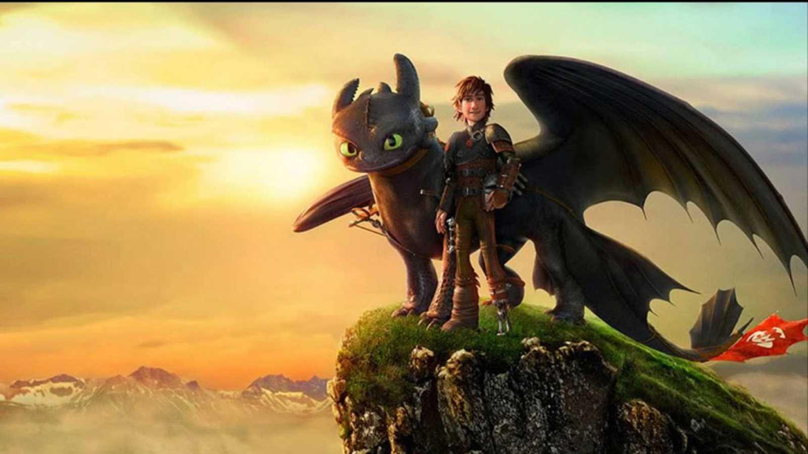DVD: 'Cómo entrenar a tu dragón 2'