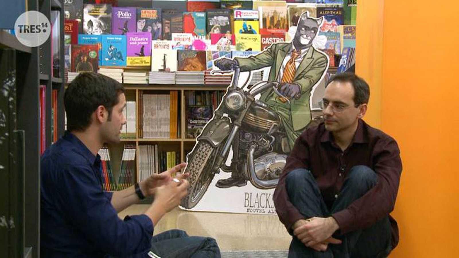 Entrevista con Juan Díaz Canales en Tres14