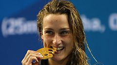 Mireia Belmonte, oro y récord del Mundo en los 200 mariposa