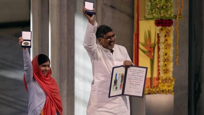 Malala y Satyarthi reciben el premio Nobel de la Paz