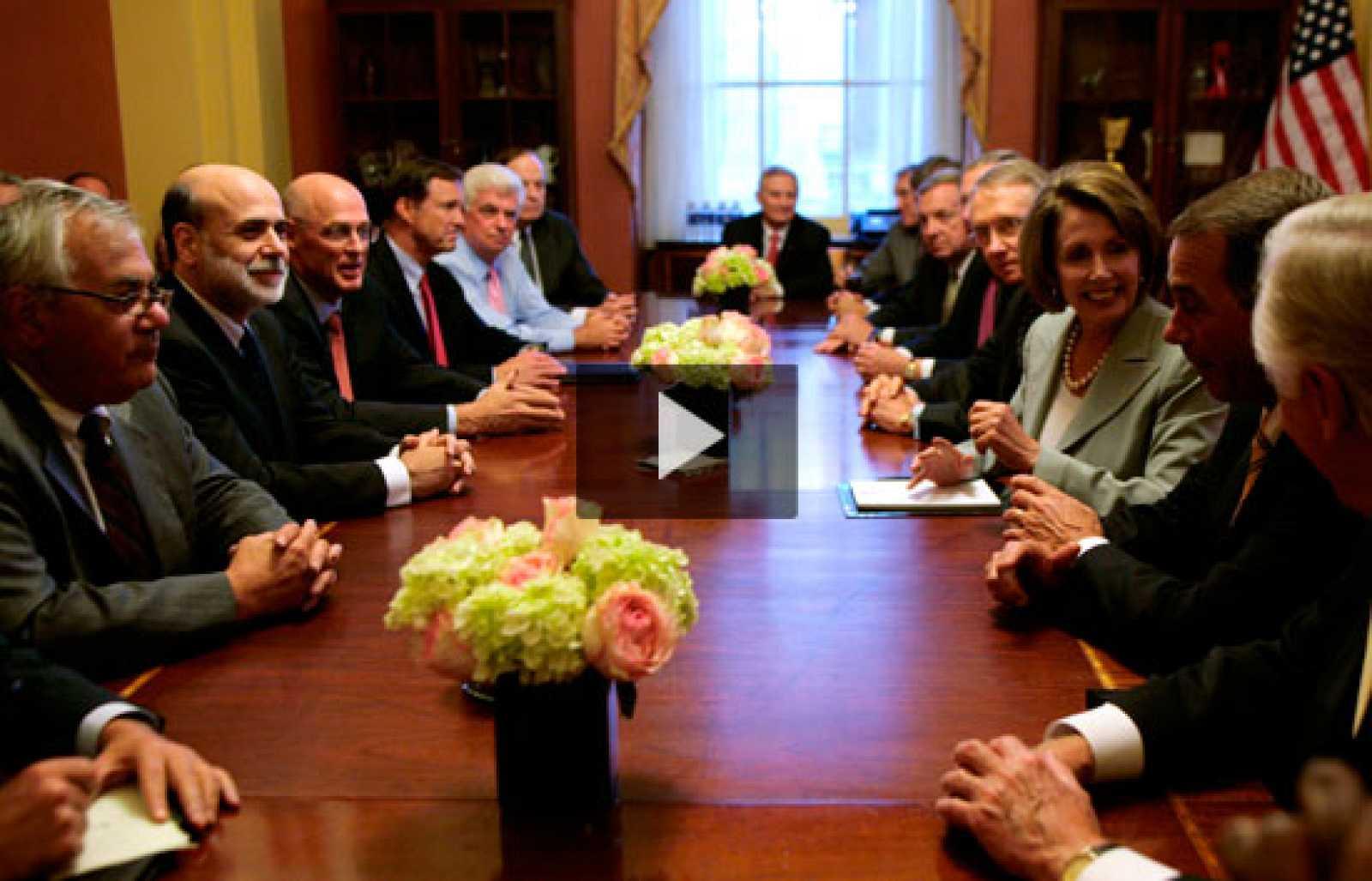 El Congreso de EE.UU. anuncia un plan contra la crisis