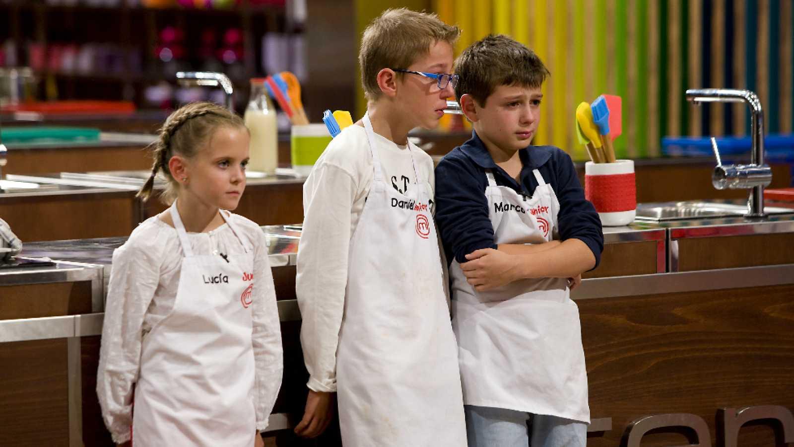 MasterChef Junior 2 - Daniel, Lucía y Marco, los primeros eliminados