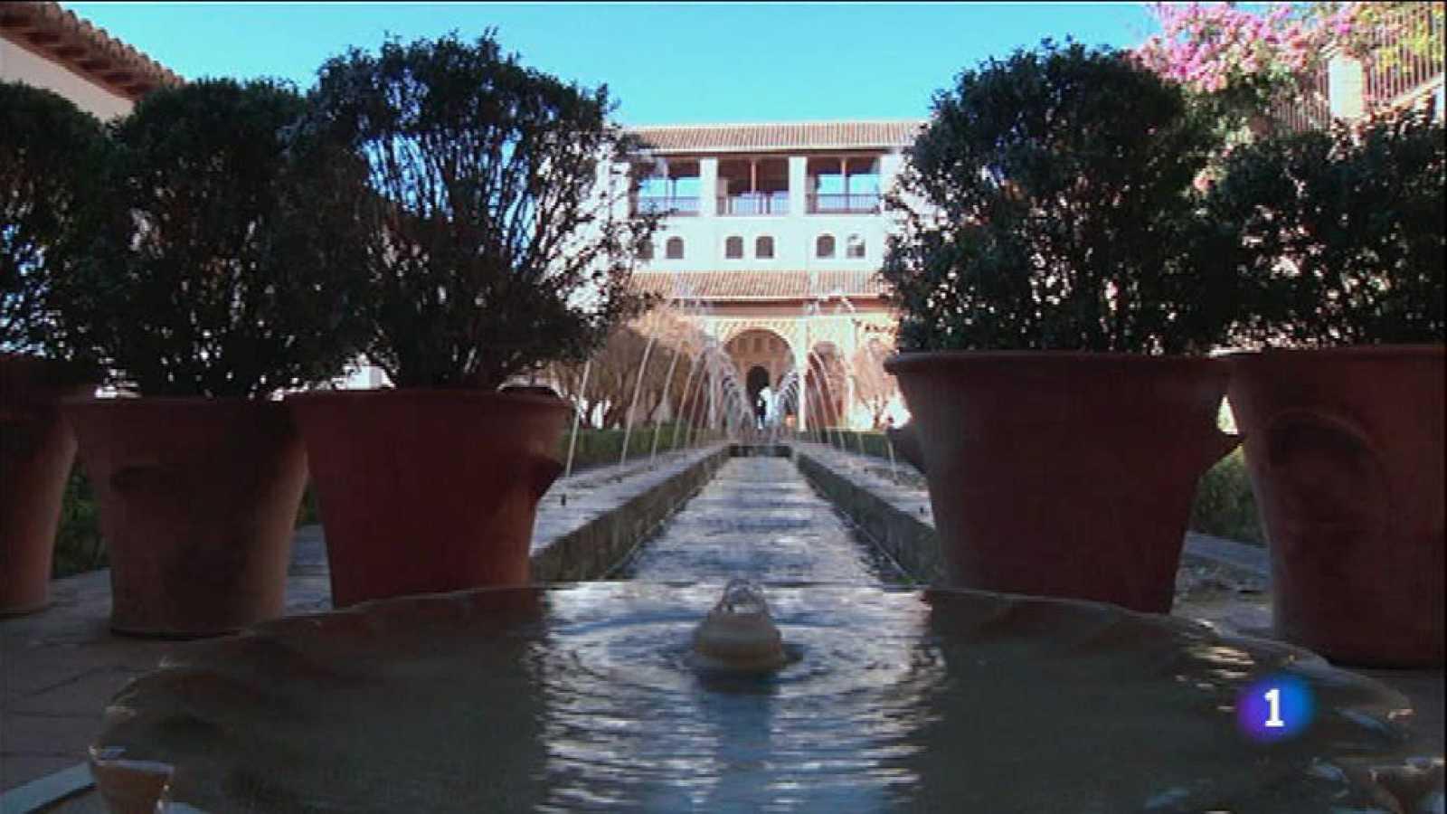 Los jardines de la Alhambra