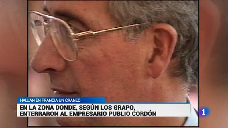 Hallan en Francia un cráneo en la zona donde los GRAPO enterraron al empresario Publio Cordón