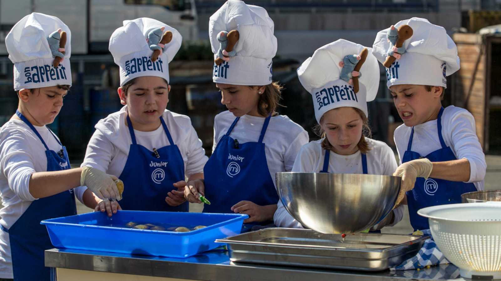 MasterChef Junior 2 - Desastre en las cocinas en Disneyland París
