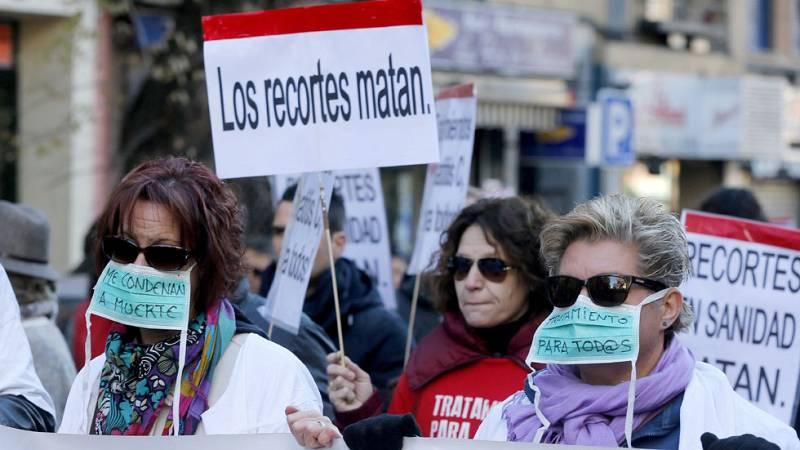 Marcha en varias ciudades de la Plataforma de Afectados por la Hepatitis C