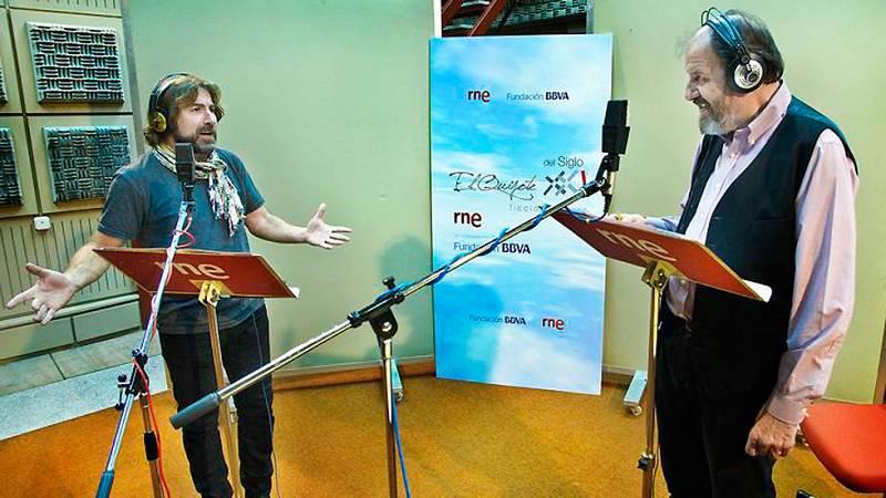 El Quijote del siglo XXI: versión radiofónica - Comienza la grabación del nuevo 'Quijote' de RNE - Ver ahora
