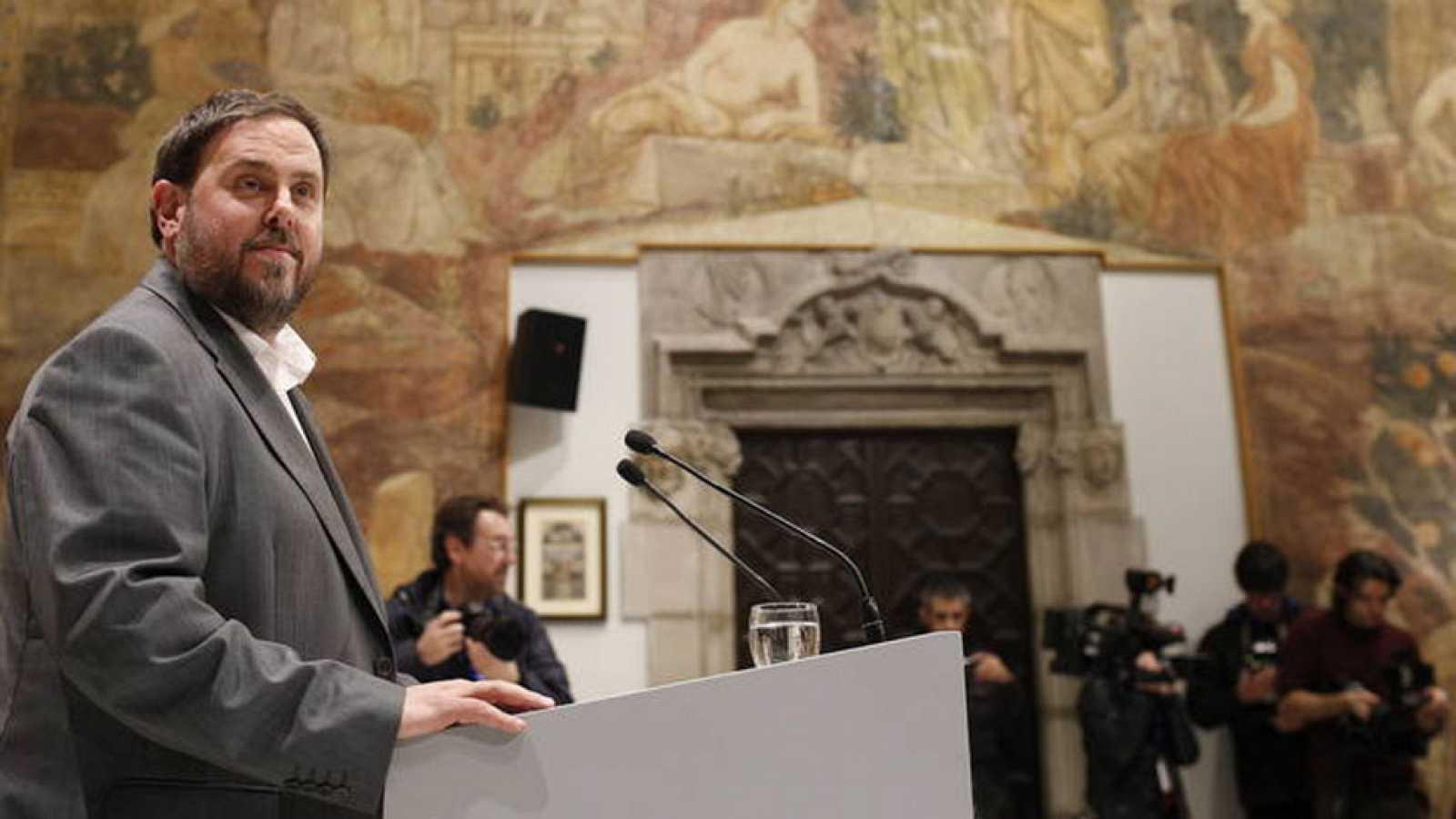 """Oriol Junqueras (ERC): """"Nos prepararemos aún más para la independencia"""""""
