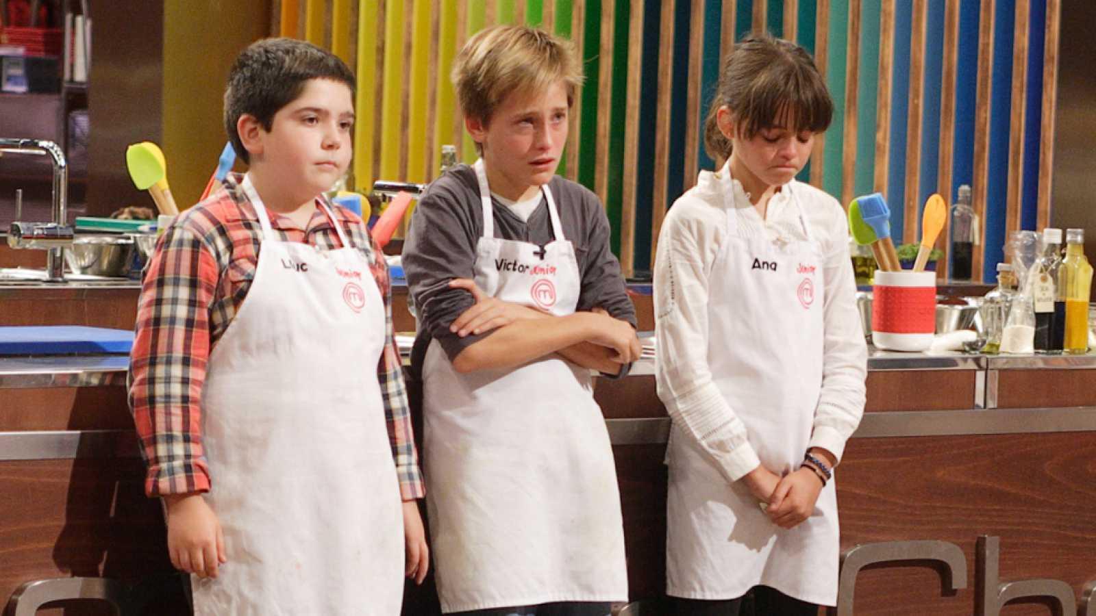 MasterChef Junior 2 - Ana, Lluc y Víctor abandonan las cocinas