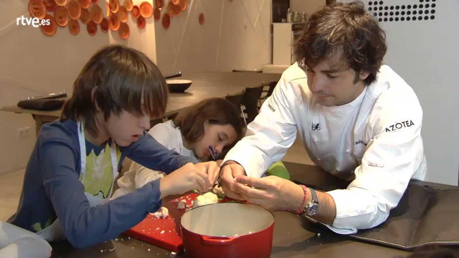 MasterChef Junior 2 - Clase de verduras y hortalizas