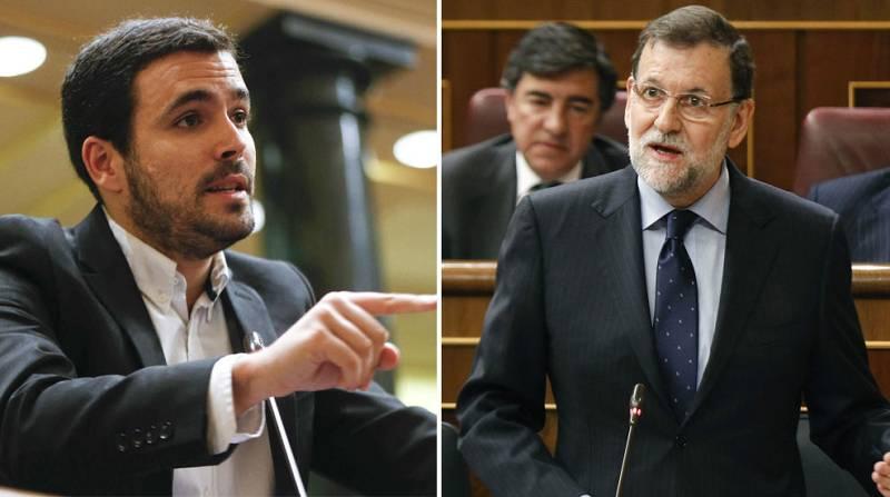 """Rajoy asegura haber """"dado la vuelta"""" a la crisis  e IU le acusa de vivir """"en una burbuja"""" con su propaganda"""