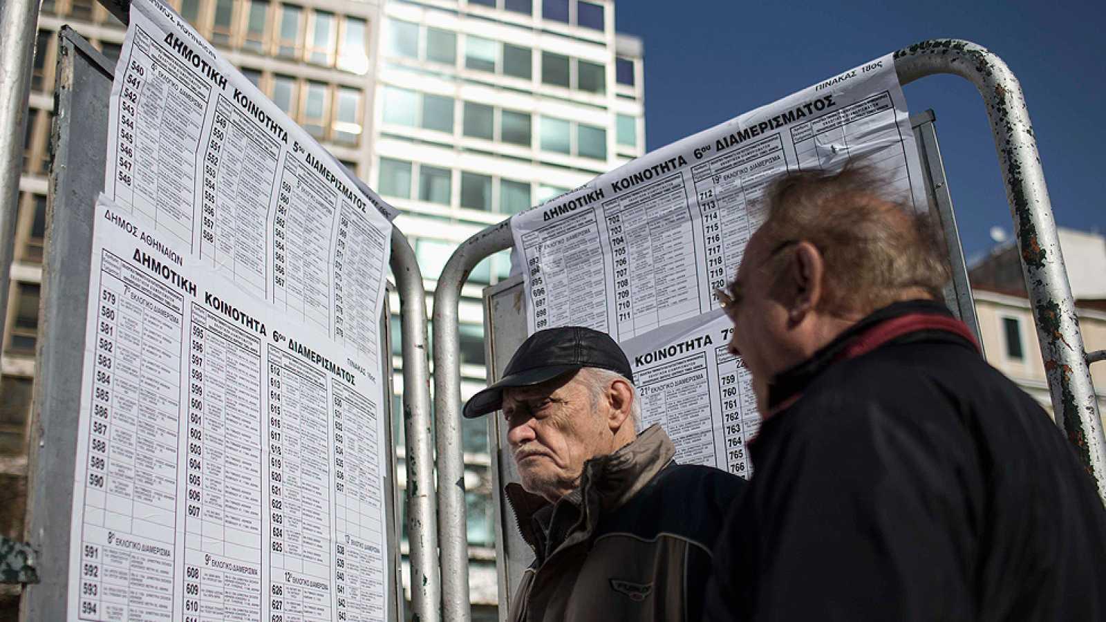 Últimas horas para la cita con las urnas en Grecia