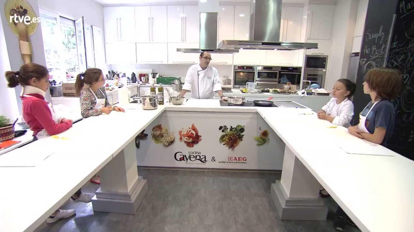 MasterChef Junior 2 - Clase de cocina internacional