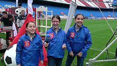 MasterChef Junior 2 - Aina, Martina y Teresa, atléticas en el Calderón