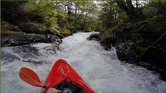 Saltos de más de 20 metros en kayak