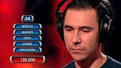 Sergio se juega 120.000 euros en 'La Guillotina'