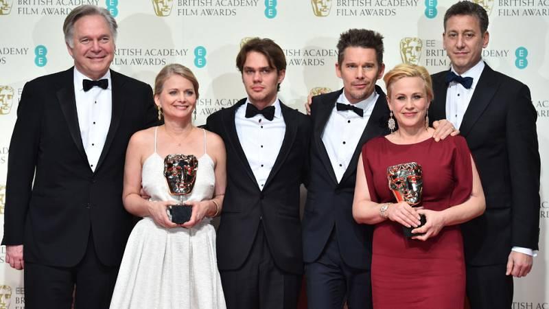 'Boyhood' y 'La teoría del todo' desbancan a la favorita 'Birdman' en los Bafta 2015