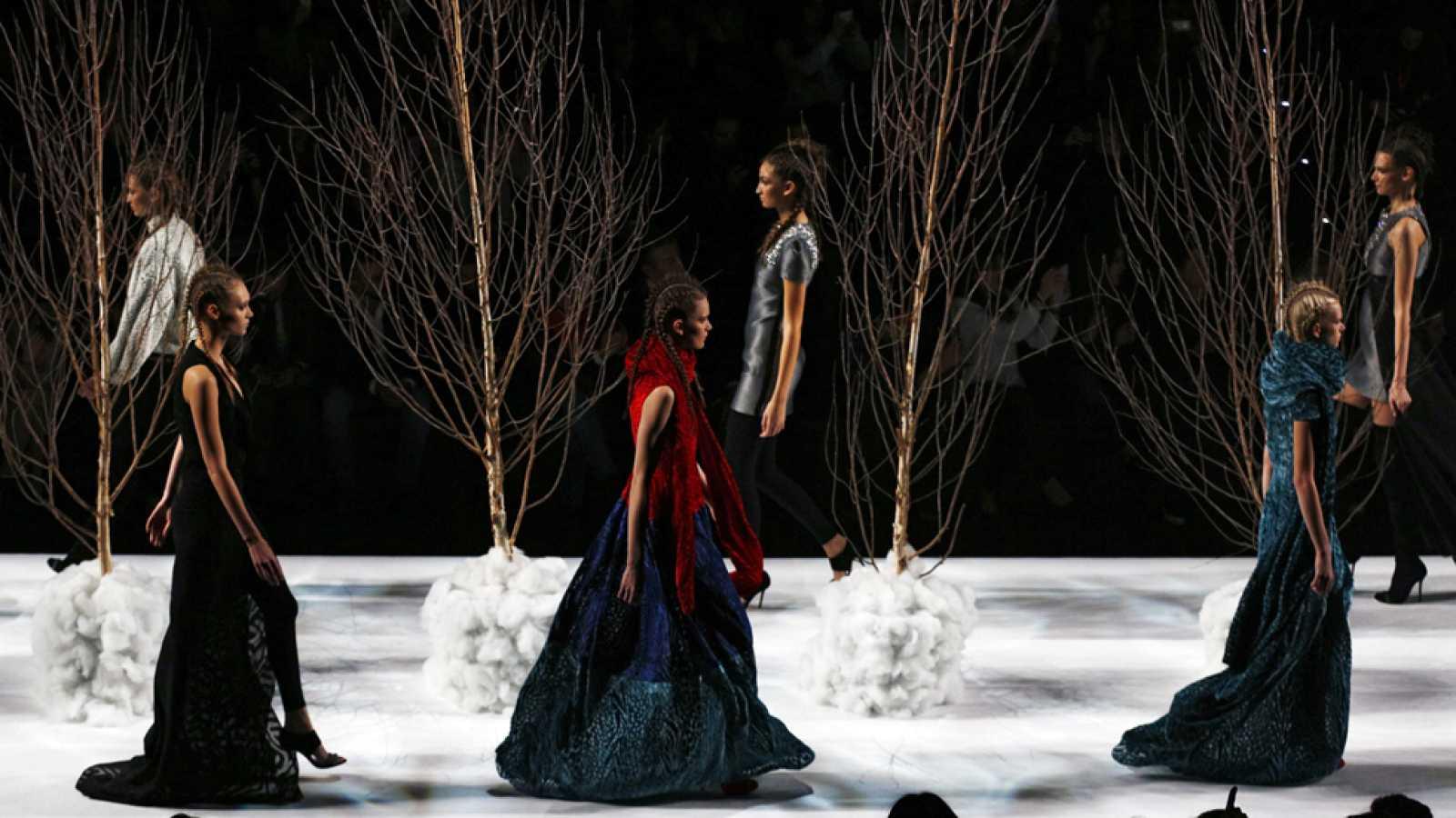 Quinta jornada de la Mercedes-Benz Fashion Week Madrid