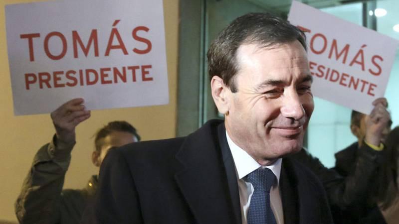 Tomás Gómez presenta en el PSOE el recurso contra su destitución al frente del PSM