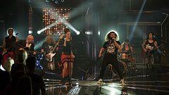Hit-La Canción- Mojinos Escozíos interpreta 'Caroline' junto a María y Adriano