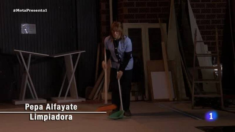 José Mota presenta...  Pepa Alfayate 'Limpiadora O'Hara'
