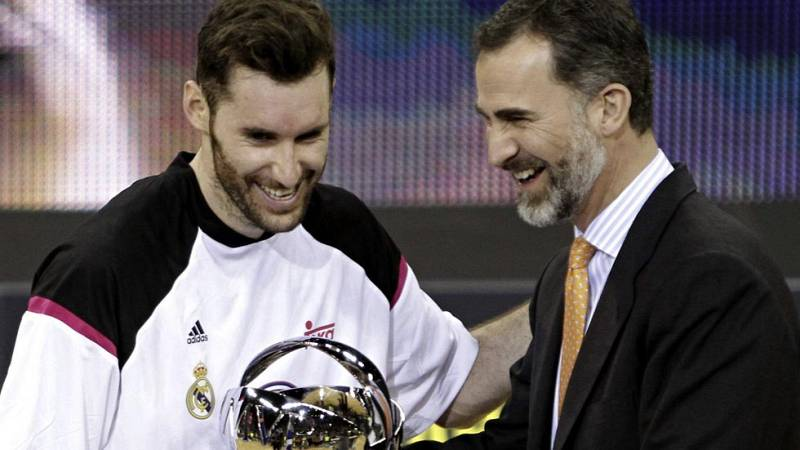 Rudy Fernández, 'MVP' de la Copa 2015