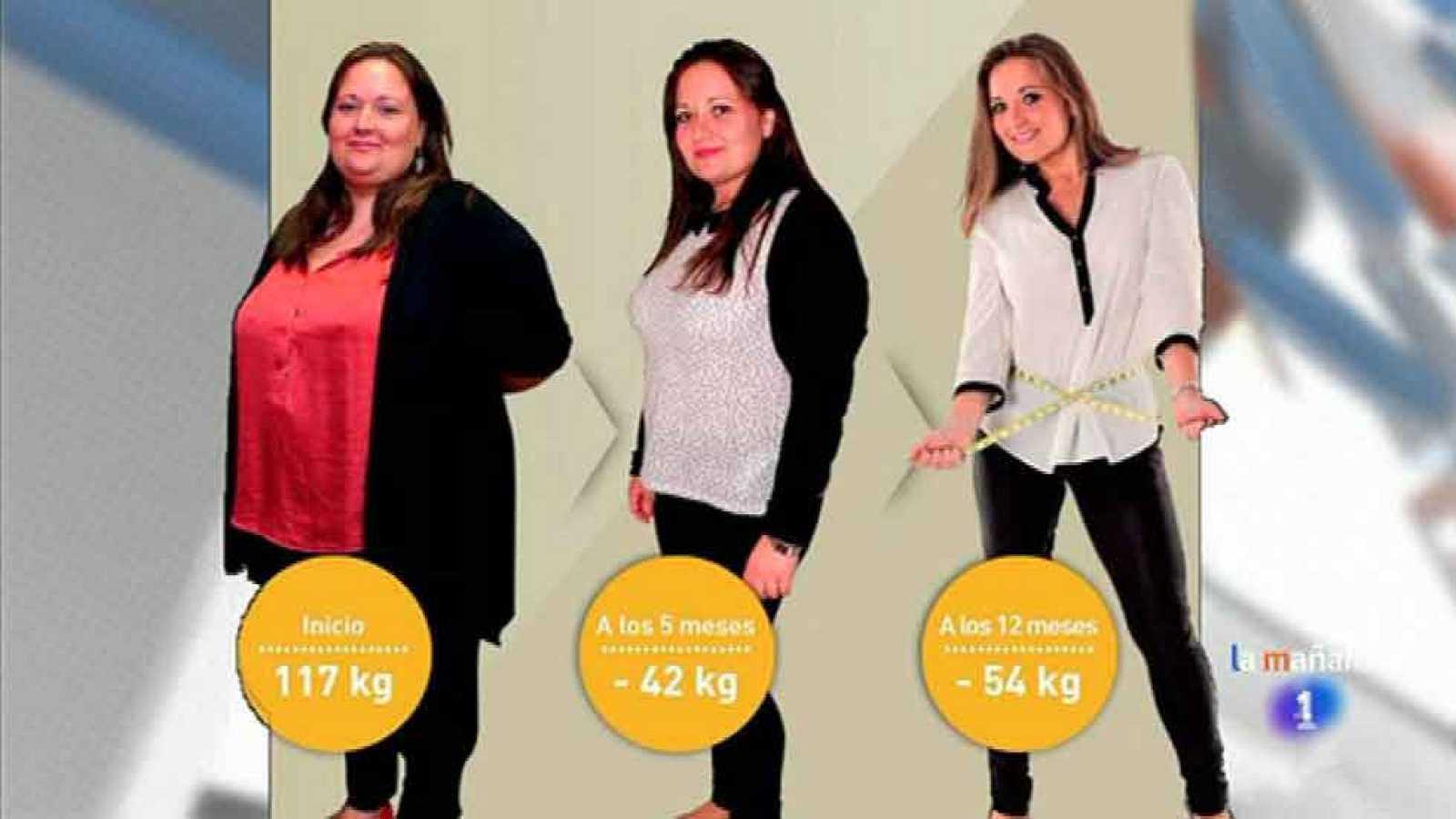 Tatiana: 54 kilos menos en 12 meses