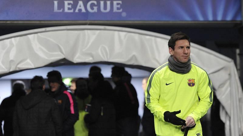 Messi y Agüero, frente a frente en el Etihad Stadium