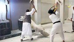 El grupo Estado Islámico destruye patrimonio histórico iraquí en un acto vandálico de propaganda