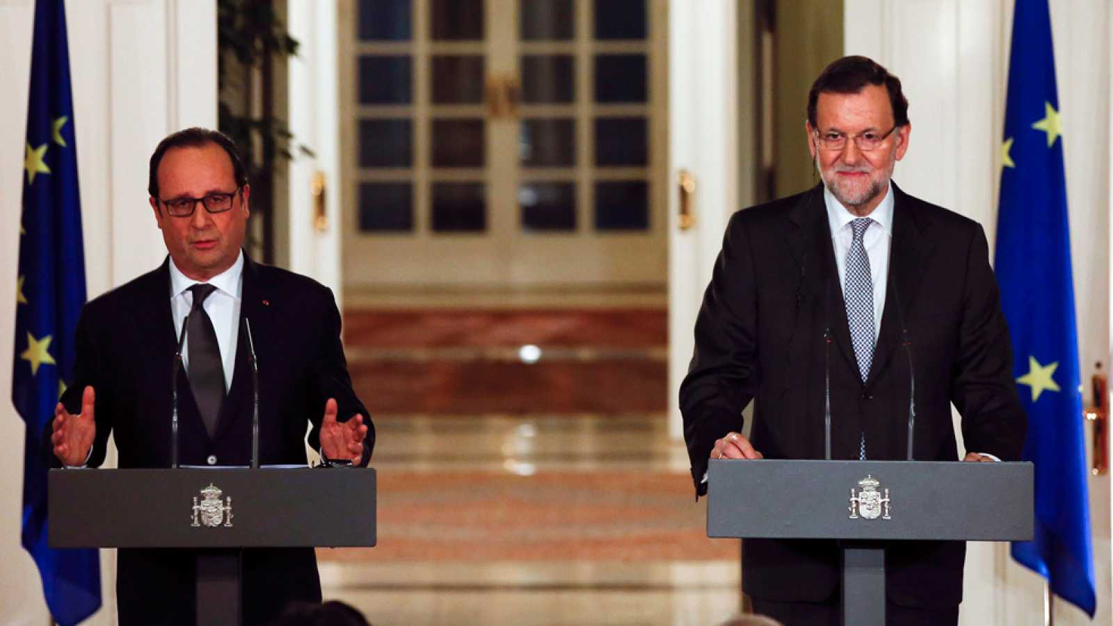 Rajoy firma con otros líderes europeos un plan energético que impulsa el gasoducto Midcat