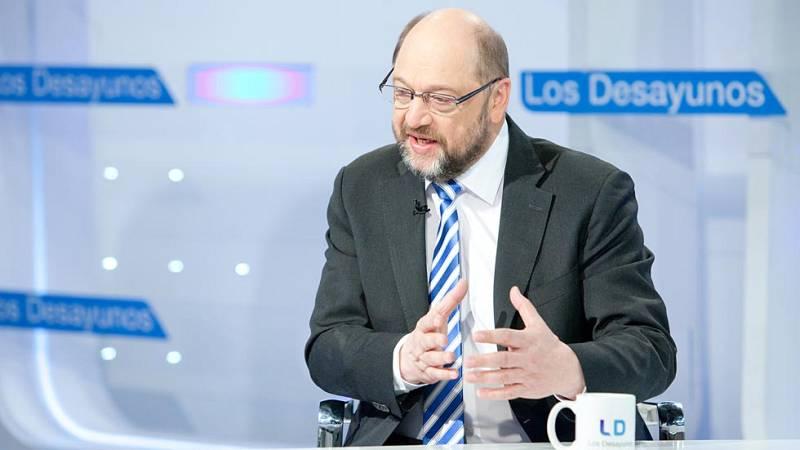 """Schulz: """"Grecia tiene que hacer lo que el resto, invertir para crear empleo"""""""