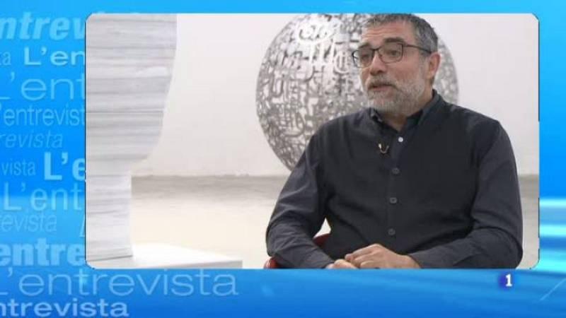 L'Entrevista de l'Informatiu Cap de Setmana: Jaume Plensa, escultor