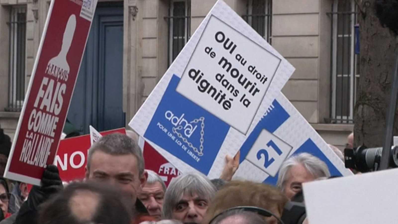 Francia vota una ley de sedación terminal para enfermos incurables
