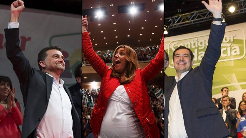 Cuenta atrás para las elecciones en Andalucía