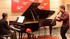 Estudio 206 - Pablo Barragán (clarinete) y Daniel del Pino (piano)