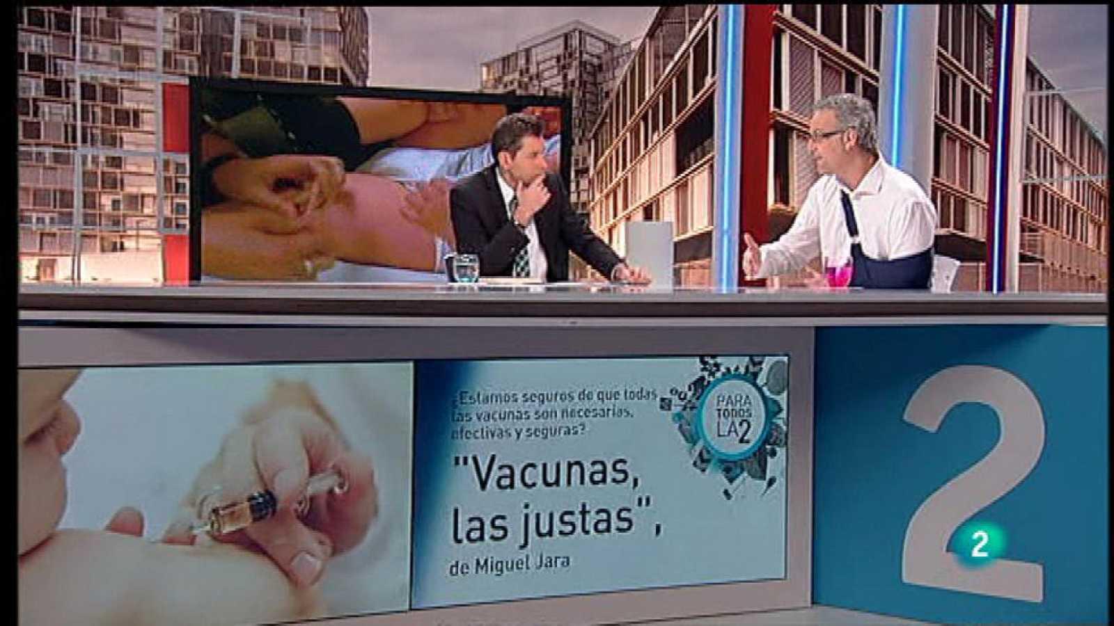Para Todos La 2 - Entrevista - Miguel Jara, las vacunas