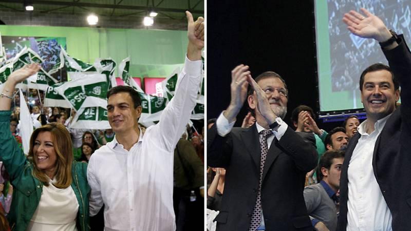 Los líderes nacionales dan su último apoyo a sus candidatos en cierre campaña