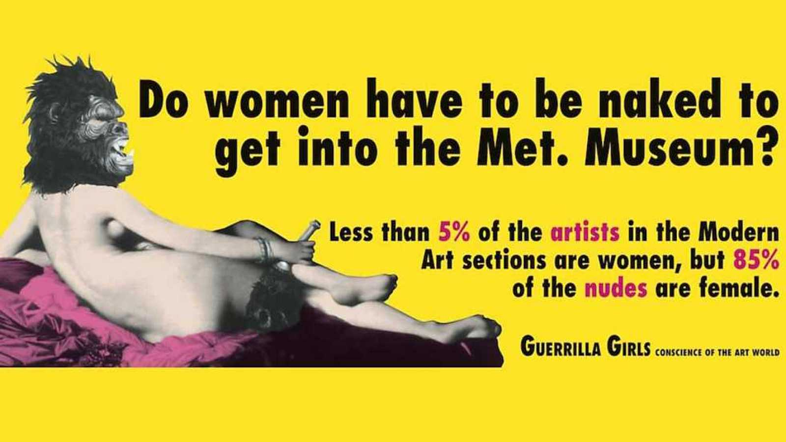 Metrópolis - Guerrilla Girls - ver ahora