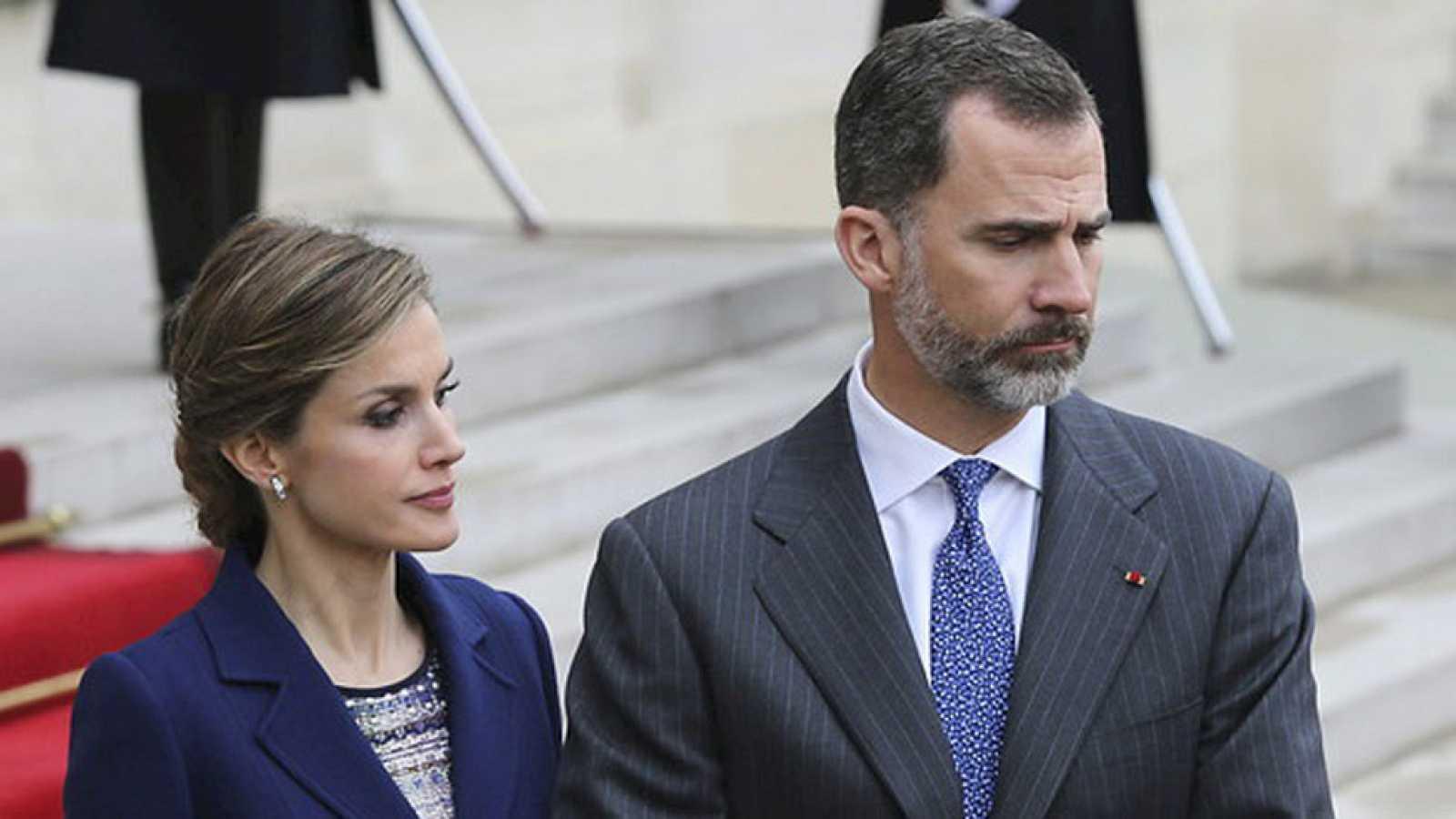 Los reyes de España cancelan la visita de Estado a Francia por el accidente aéreo en los Alpes