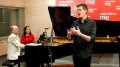 Estudio 206 - Philippe Jaroussky (contratenor) y Jerôme Ducros (piano)