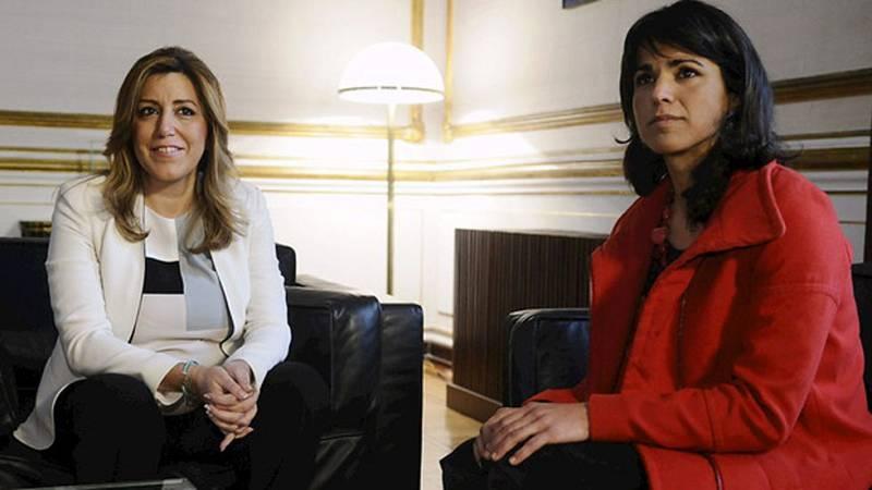 Comienza la ronda de contactos de cara a la investidura de Susana Díaz