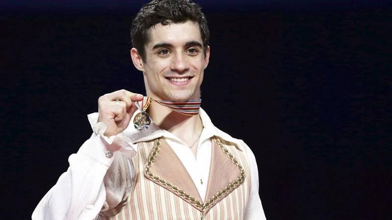 Javier Fernández, campeón del mundo de patinaje