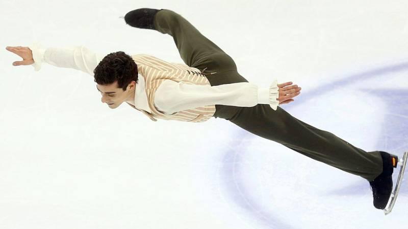 Javier Fernández logra el oro mundial con un gran ejercicio en el programa libre